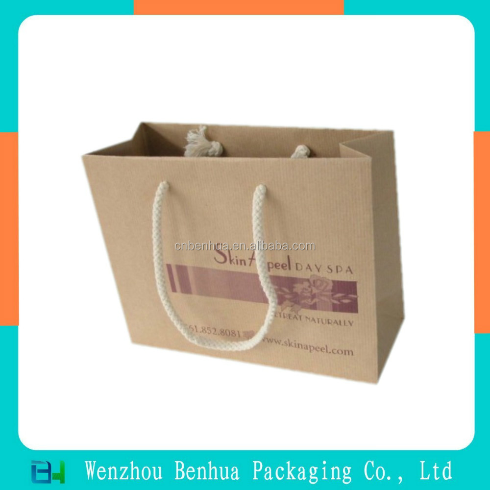 custom paper bags cheap