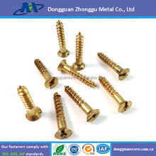 2015 ZHONGGU HIHG QUANLITY BRASS MIRROR SCREW/PRECISION BRASS SLOTTED ROUND HEAD WOOD SCREW/SCREWS,GAUGE