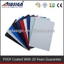 Alusign popular acm manufacturer decorative materials material decoration