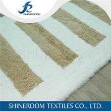 Velour Tufted 100 Cotton Non-Slip Bathroom Floor Mat