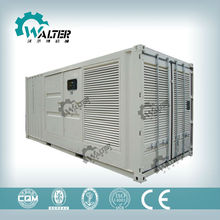 50/60Hz Container water Power Station Generator 500kVA-2000kVA