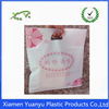 Polyethylene plastic die cut handle shopping bags with high quality