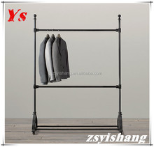 Customized store trousers display rack / clothes display stand