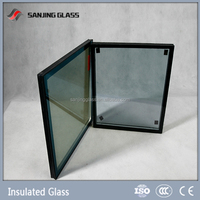 Insulated glass thermal pane glass