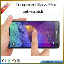 tempered glass screen protective film for Samsung galaxy note 4,mobile use for samsung note 4 screen protector