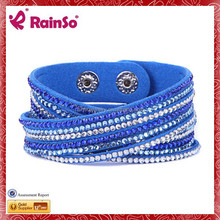 Fashion wholesale crystal and beads tennis bracelet