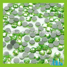 Hot fix glass crytal rhinestone beads in bulk