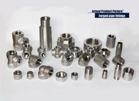 """2""""or dn20 stainless steel npt threaded double nipple pipe fittings"""