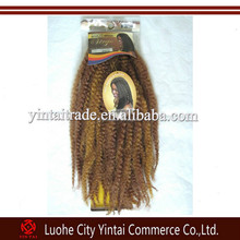 Topsale kinky twists synthetic marley hair braid ,kanekalon marley afro twist braiding synthetic hair extensions