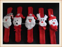 aus seller...CHRISTMAS SLAP BRACELET....3 DESIGNS...GREAT STOCKING FILLERS...new
