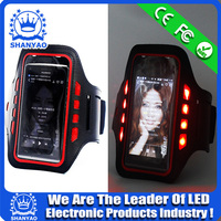 2015 Hot Selling LED Mobile Phone Arm Band