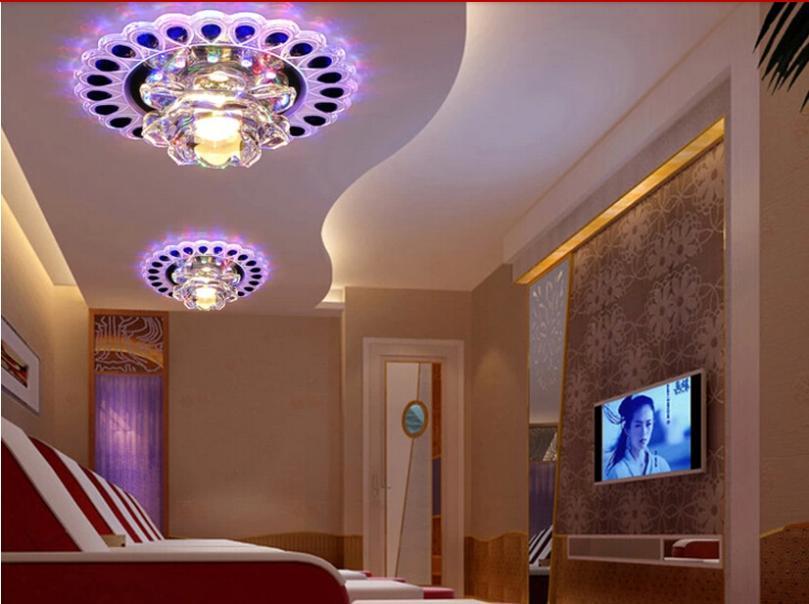3w современные светодиодные потолочные светильники для гости.