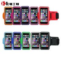 New arrival hot sale neoprene mobile phone sport armband cases for motorola