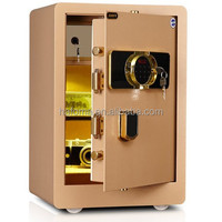 Fingerprint safe cabinet home to the wall of the fingerprint safe box home 60cm high total steel