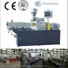 CE & ISO Haisi planetary mini plastic granulator extruder machine
