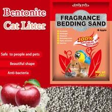 2015 Natural small granules bentonite clay cat & rodent sand