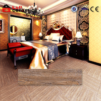 hot sale made in China CE quality standard 6x32 rustic oak porcelain tile wood grain