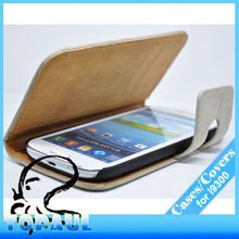 2013 Newest leather mobile phone cover galaxy s3 cute case I93061