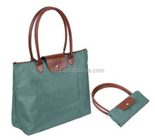 Wholesale shopping high quality folding non-woven bags
