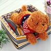 Fashion customize pet home plush pet bed soft dog bed