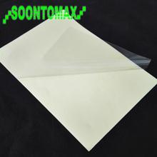 Super self adhesive 50u rigid clear PVC film