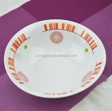 "8"" Soup Plate,8 inch ceramic soup plate,8 decorative ceramic plate"