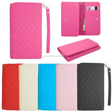 2015 new arrival Universal Wallet Pouch Cover Case For Lumia 640 Luxury PU credit card leather