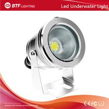 10W 12V-24V Plain mirror underwater light Green Color underwater pool light Silver/black/gold surface