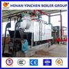 dzl three pass high efficiency industrial ISO and CE wood chip steam boiler