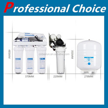 Auto flush type 5 stages ro domestic unit water purifier with storage tank