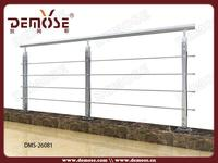 new style mild steel railing for staircase to Indonesia