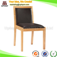 (SP-EC781) french solid wood leather dining chair