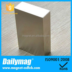Big Block 50x25x12mm Ndfeb Magnet For Wind Generator/Permanent Type Magnets