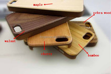 wood cover for iphone 5,for iphone 5 bamboo case,wooded craft for iphone 5 shell
