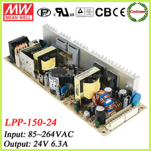 Meanwell 6.3a 24v smps power supply LPP-150-24