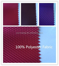 2015 Hot Selling Polyester Bag Fabric With PVC coated