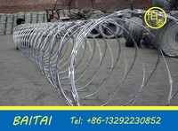 Barbed wire/Razor Barbed Wire/low price concertina razor barbed wire