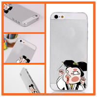For iPhone 6 4.7,6 Plus 5.5 Case Batman Iron Man Stitch Minion Mickey Simpsons Hit Face Against Glass Clear TPU Cover