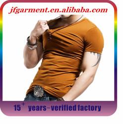 2015 hot selling men bamboo t shirt/ custom printed tshirt/bulk blank bamboo t shirt xl xxl t shirt
