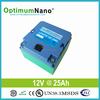 Deep Cycle LiFePO412V 25Ah Battery for Emergency Light