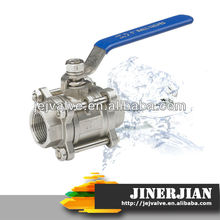 DIN/ANSI/JIS butt weld end ball valve