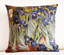 Van Gogh fancy oil painting printing office back support cushion customize