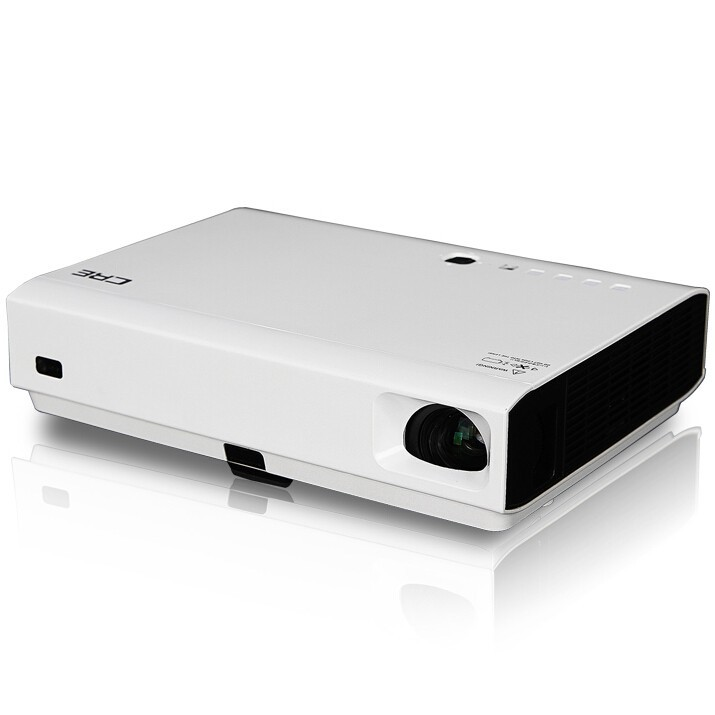 Portable laser led dlp data show video 3d home theater for Best portable laser projector