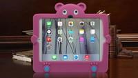 New 2015 Colorful Fashion 3d image protective silicone case for ipad mini