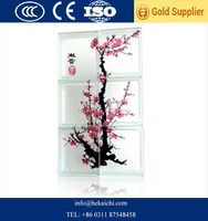 Top quality 190*190*80mm tinted glass block