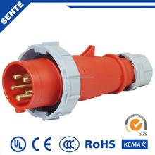 Timesaving 230V Economic Industrial Plug High Current 125 Amp