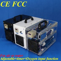 CE FCC ozone air and water ozonator