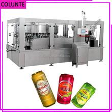 Henan máquina de agua de Soda de aluminio de latas de llenado y sellado de la máquina