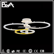 LED Pendant Lamp Hotel Lighting Fixtures Ring New Acrylic LED Ceiling Lamps