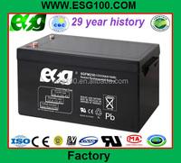 12V230AH lead acid battery solar power battery heater 230amp deep cycle battery